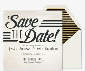Wedding - Save the date business event templates free
